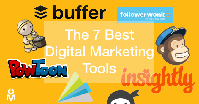 seven best digital marketing tools